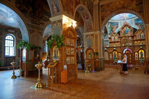 Stock Photo: 1890-146799 Vydubychi Monastery, Kiev, Ukraine, Europe