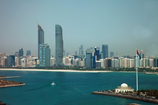 Abu Dhabi, United Arab Emirates, Middle East : Stock Photo