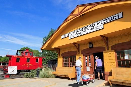 Colorado Railroad Museum, Golden, Colorado, United States of America, North America : Stock Photo