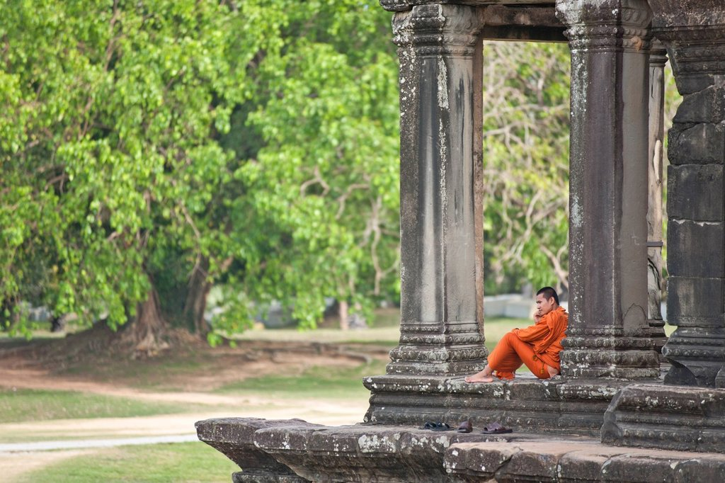 Stock Photo: 1890-152949 Angkor Wat, UNESCO World Heritage Site, Siem Reap, Cambodia, Indochina, Southeast Asia, Asia