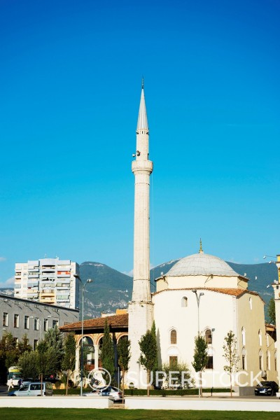 Stock Photo: 1890-160350 Mosque, Tirana, Albania, Europe