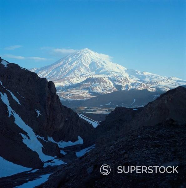 Stock Photo: 1890-1623 Mount Demavand, Iran, Middle East