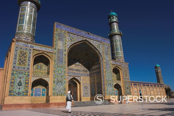 Stock Photo: 1890-16540 The Friday Mosque Masjet_e Jam, Herat, Afghanistan, Asia
