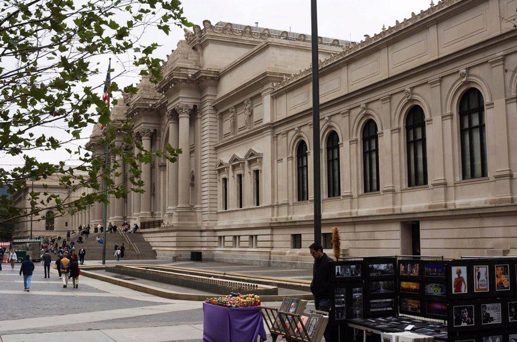 Stock Photo: 1890-24042 Metropolitan Museum of Modern Art, Manhattan, New York City, New York, United States of America, North America