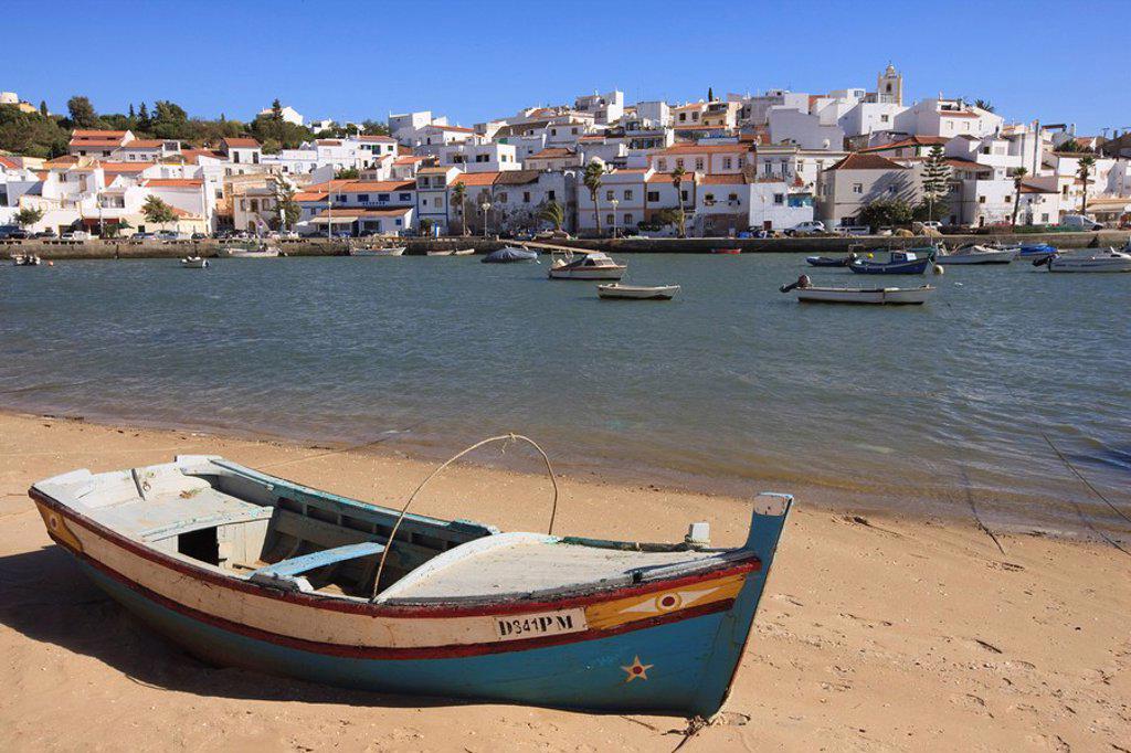 Ferragudo, Algarve, Portugal, Europe : Stock Photo