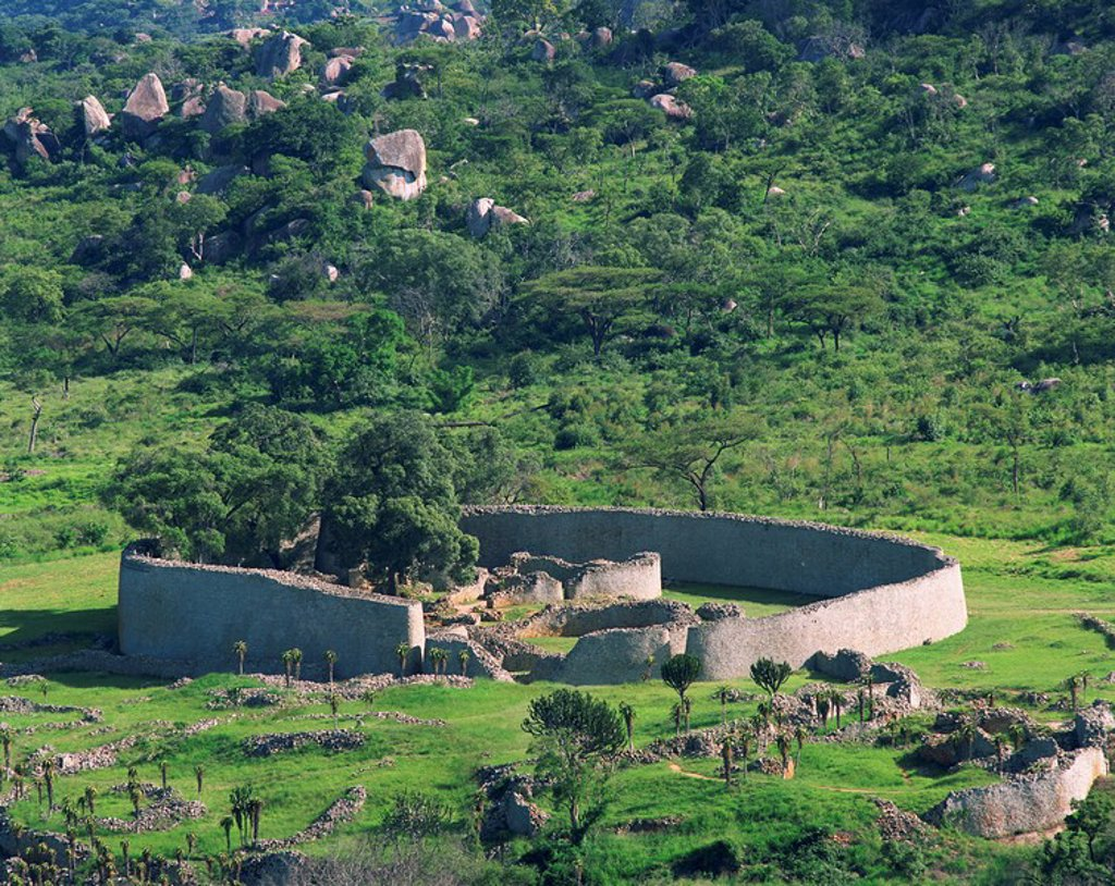 Stock Photo: 1890-25344 Great Zimbabwe National Monument, UNESCO World Heritage Site, Zimbabwe, Africa