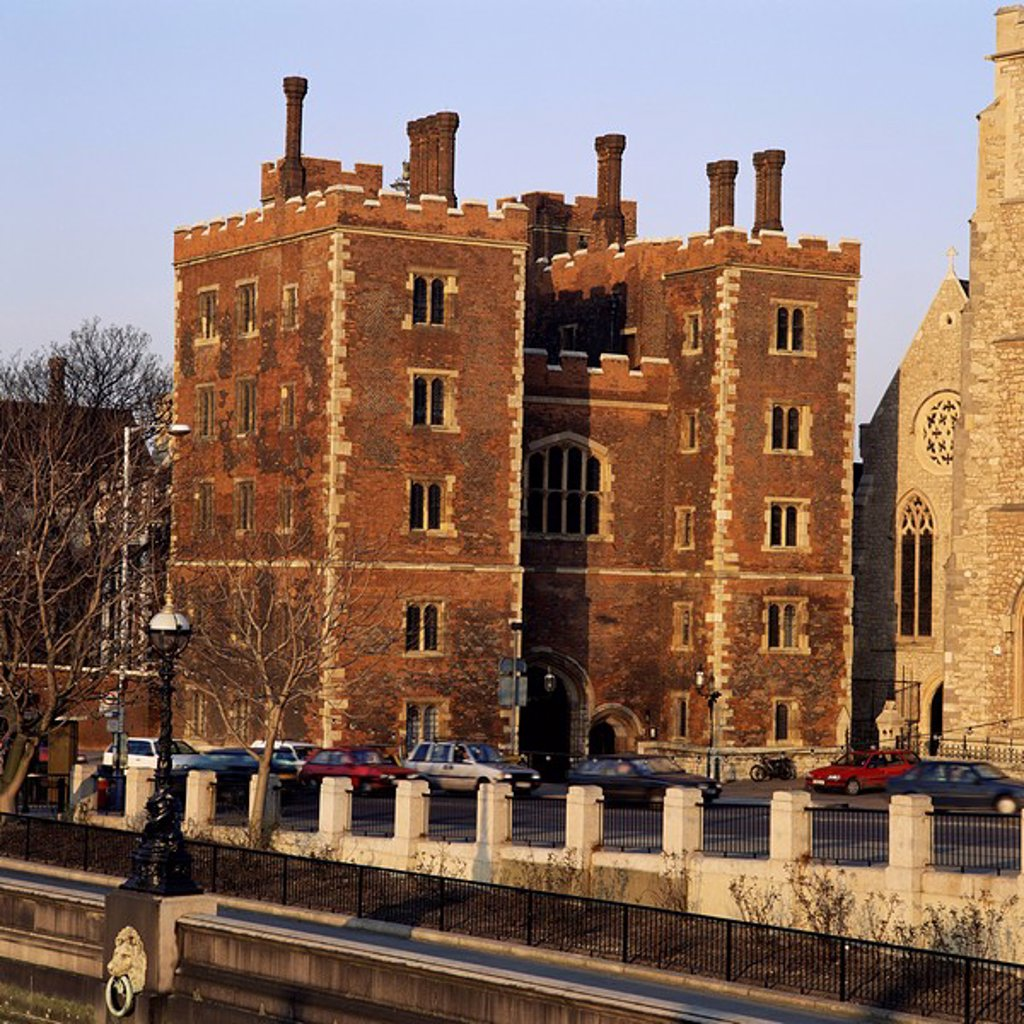 Lambeth Palace, London, England, United Kingdom, Europe : Stock Photo