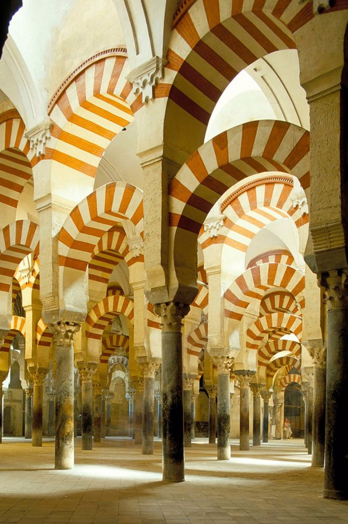 Stock Photo: 1890-26948 The Great Mosque, UNESCO World Heritage Site, Cordoba, Andalucia Andalusia, Spain, Europe