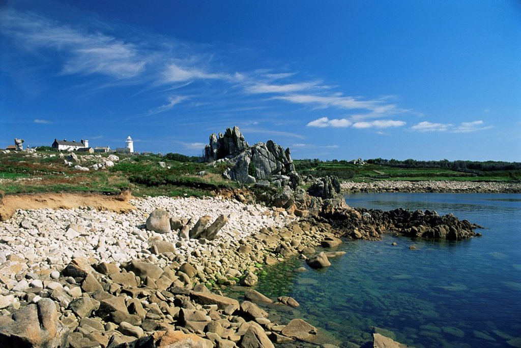 St. Agnes, Isles of Scilly, United Kingdom, Europe : Stock Photo
