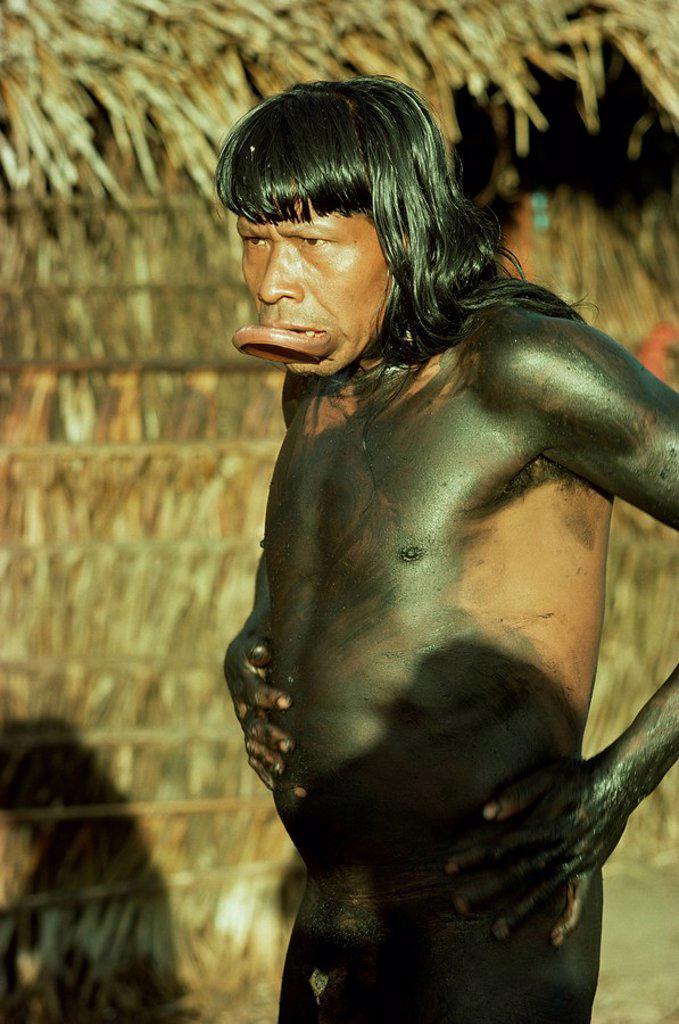 Xingu, Brazil, South America : Stock Photo
