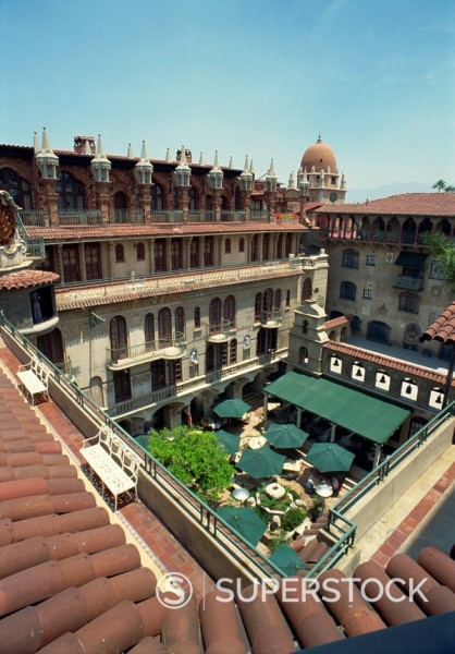 Stock Photo: 1890-2916 The Mission Inn Hotel, Riverside, California, United States of America, North America