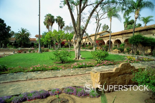 San Juan Capistrano Mission, California, United States of America, North America : Stock Photo