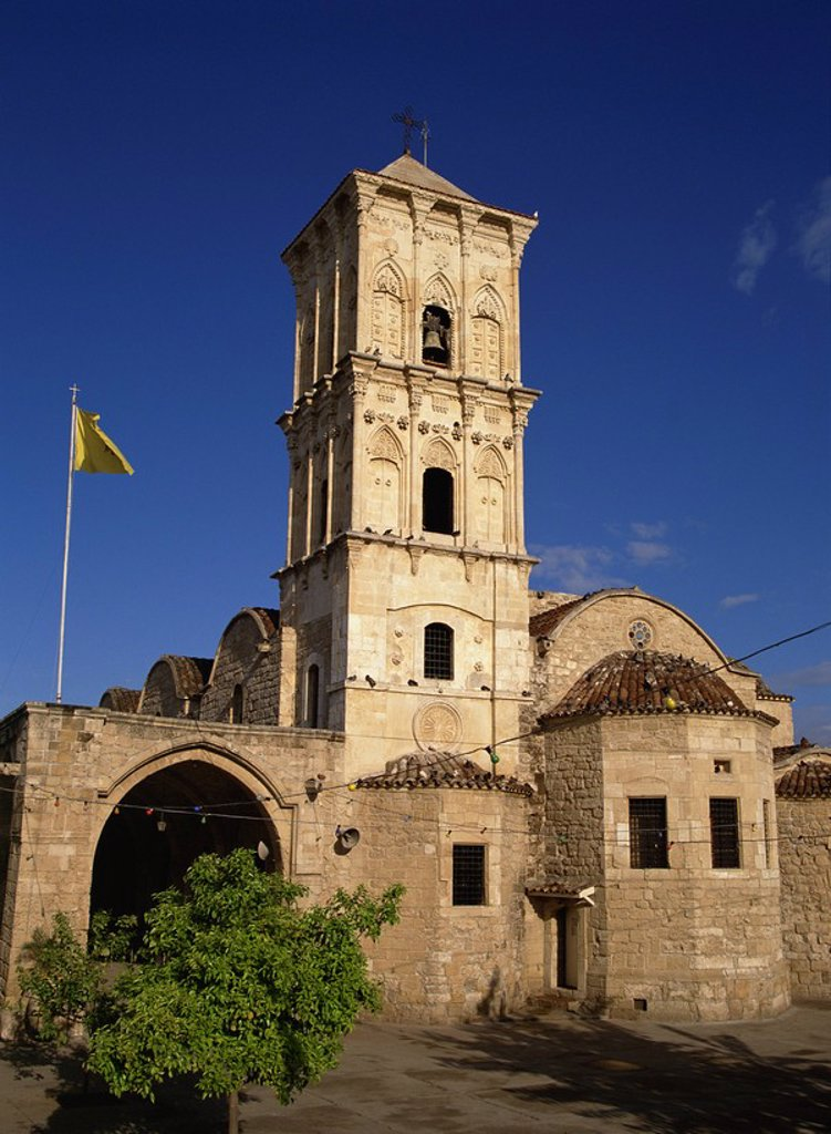 Stock Photo: 1890-30296 The 9th century church of St. Lazarus, a place of pilgrimage which contains the tomb of Lazarus, Larnaca, Cyprus, Europe