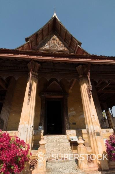Wat Si Saket, Vientiane, Laos, Indochina, Southeast Asia, Asia : Stock Photo