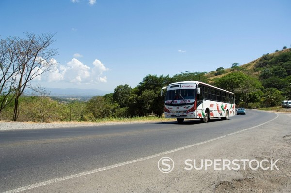 Stock Photo: 1890-33732 Pan American Highway, near San Jose, Costa Rica, Central America