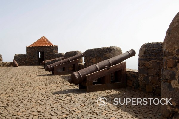 Stock Photo: 1890-35155 The Fortress of Sao Filipe, Santiago, Cape Verde Islands, Africa