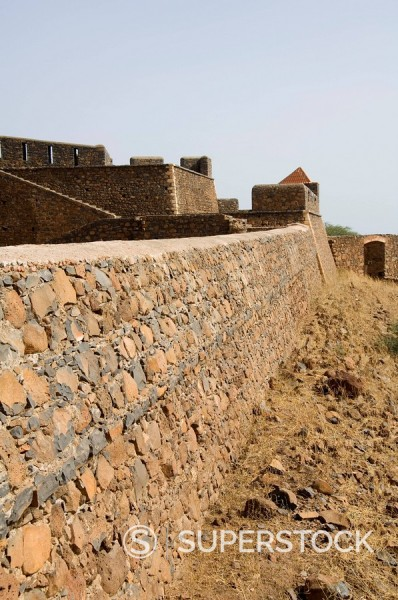 Stock Photo: 1890-35156 The Fortress of Sao Filipe, Santiago, Cape Verde Islands, Africa