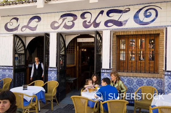 Stock Photo: 1890-35756 Tapas bar and restaurant in the El Arenal area near the bull ring, Seville, Andalusia, Spain, Europe