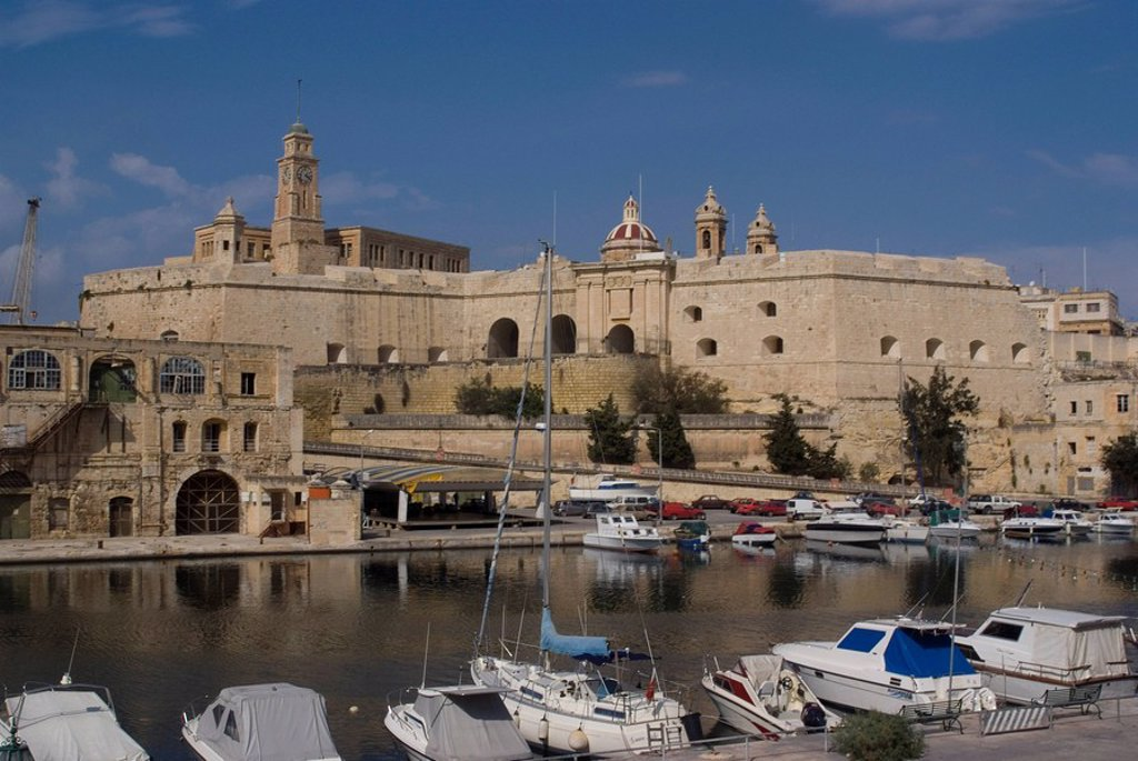 Stock Photo: 1890-40062 Vittoriosa, Malta, Mediterranean, Europe