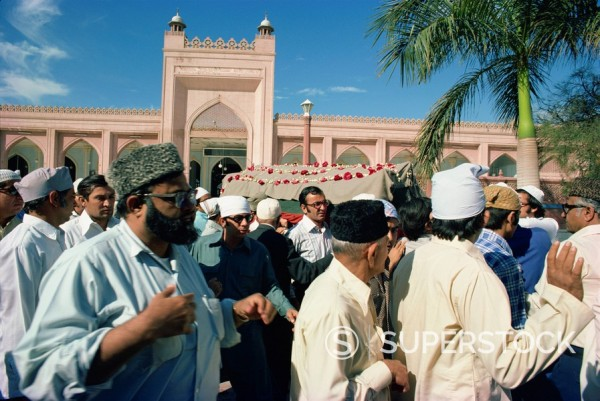 Funeral, Karachi, Pakistan, Asia : Stock Photo