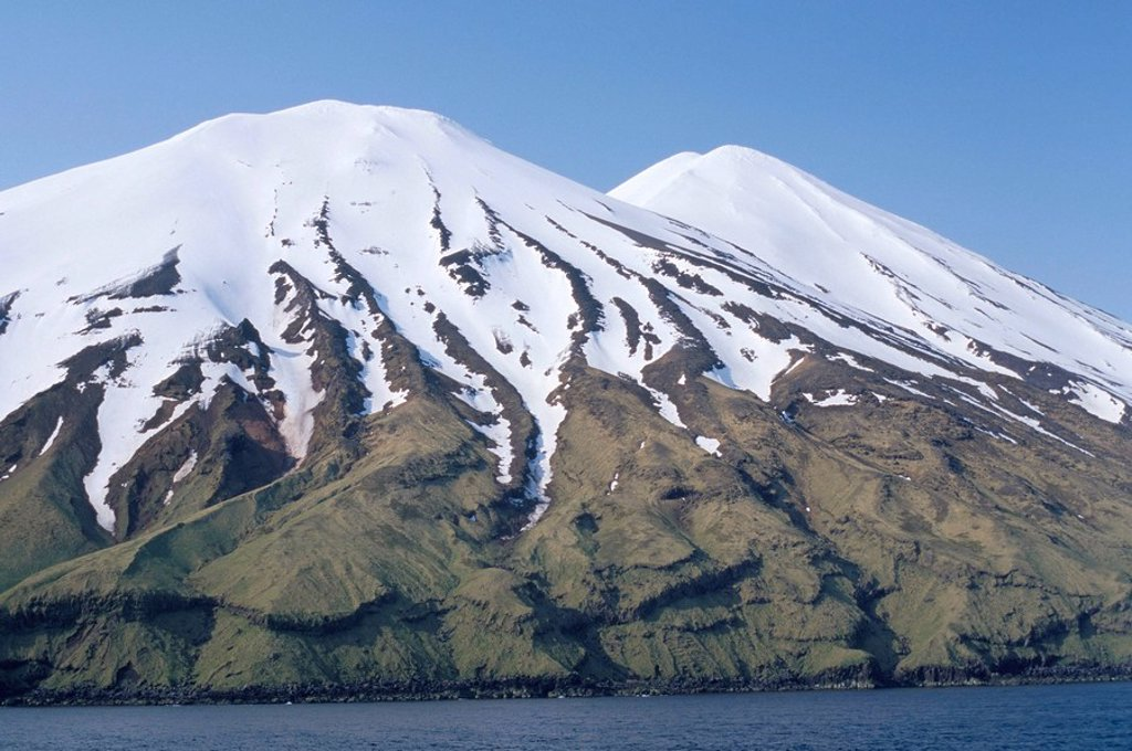 Aleutian islands, Alaska, United States of America, North America : Stock Photo