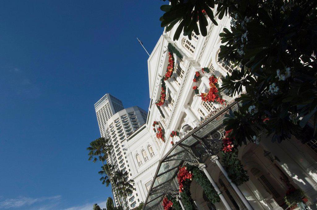 Raffles Hotel, Singapore, Southeast Asia, Asia : Stock Photo