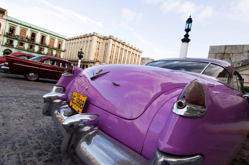 Stock Photo: 1890-44921 Cars, Havana, Cuba, West Indies, Central America