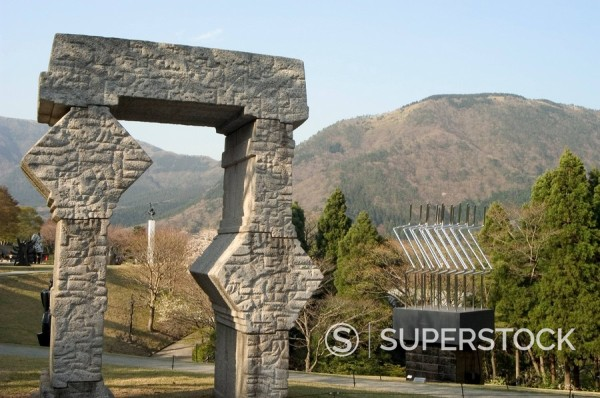 Stock Photo: 1890-46771 Hakone Sculpture Park, Hakone, Honshu Island, Japan, Asia