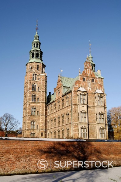 Stock Photo: 1890-48746 Rosenborg castle, Copenhagen, Denmark, Scandinavia, Europe