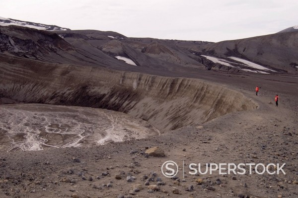 Stock Photo: 1890-48807 Volcano, Deception Island, South Shetland Islands, Antarctica, Polar Regions