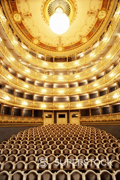 Stock Photo: 1890-50242 Estates Theatre, Prague, Czech Republic, Europe
