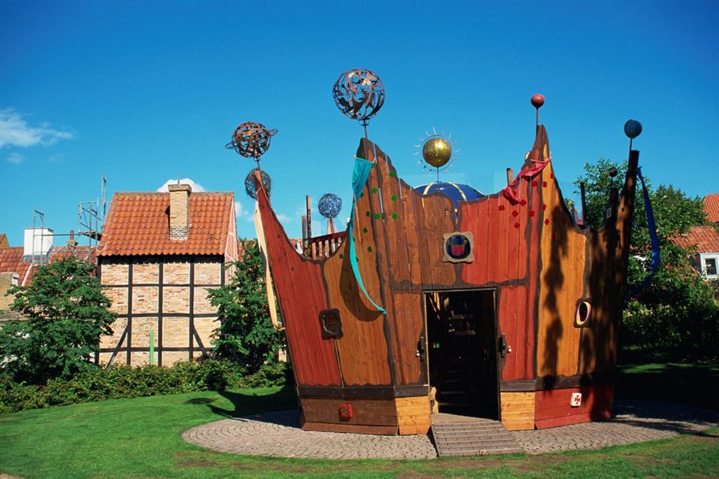 Stock Photo: 1890-5123 Crown, children´s play centre, Odense, Funen, Denmark, Scandinavia, Europe