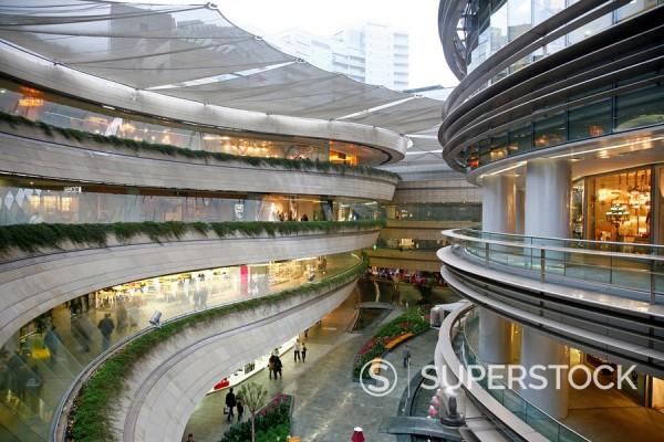 Kanyon shopping mall in Levent area, Istanbul, Turkey, Europe : Stock Photo