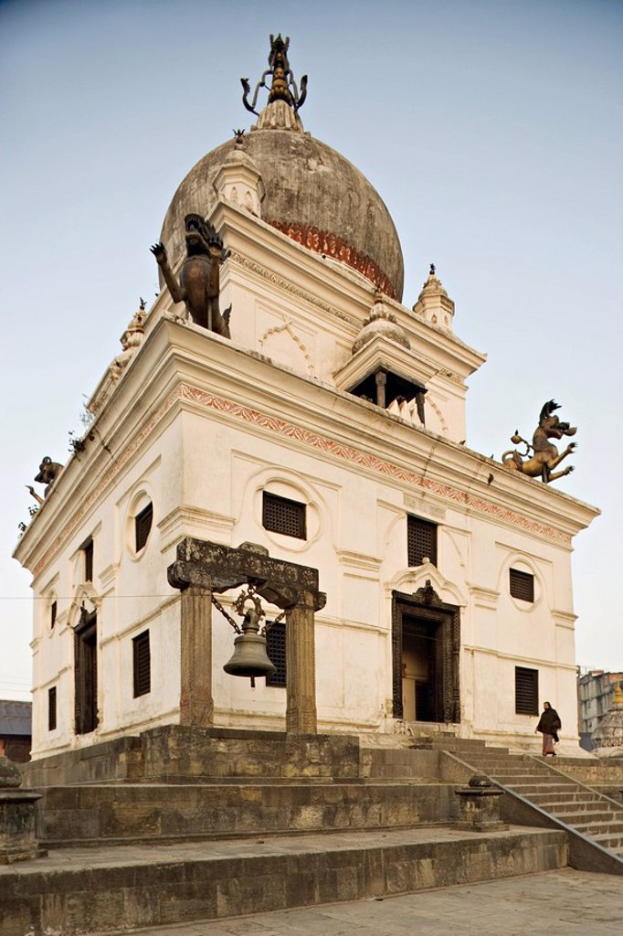 Stock Photo: 1890-52942 Temple built by the Ranas during the Victorian era, Kalmochan temple, Kathmandu, Nepal, Asia