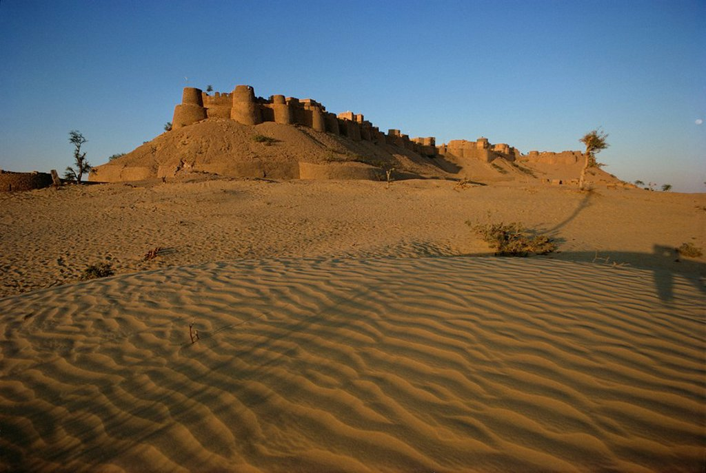 Stock Photo: 1890-53671 Fort, Jaisalmer, Rajasthan state, India, Asia