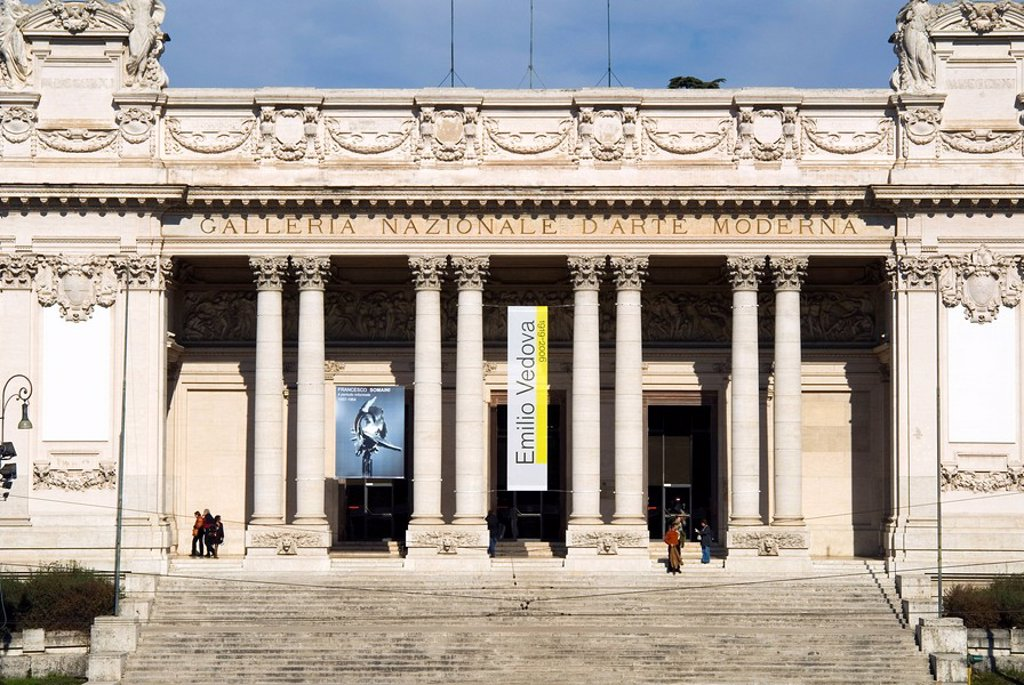 Stock Photo: 1890-54856 Exterior of the Museum of Modern Art, Rome, Lazio, Italy, Europe