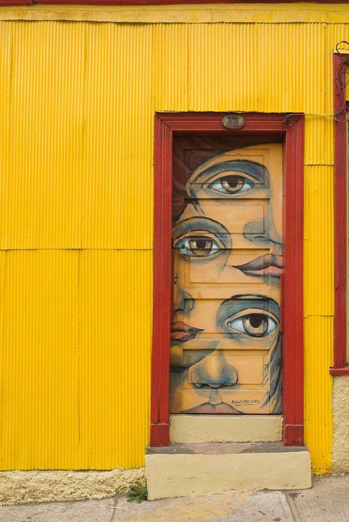 Valparaiso, Chile, South America : Stock Photo