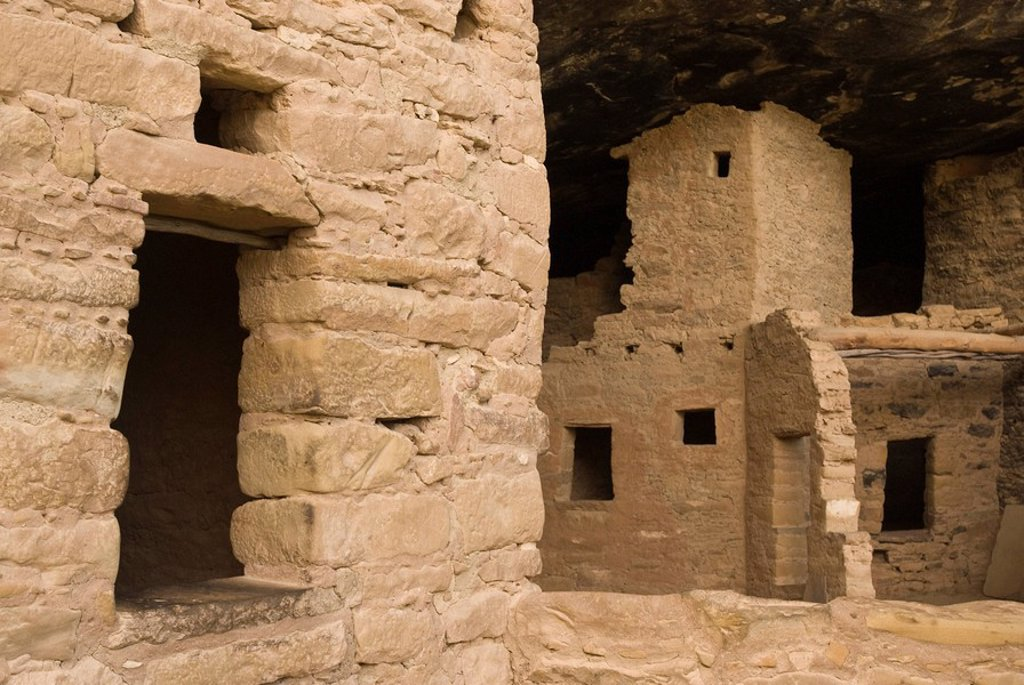 Mesa Verde, Mesa Verde National Park, UNESCO World Heritage Site, Colorado, United States of America, North America : Stock Photo