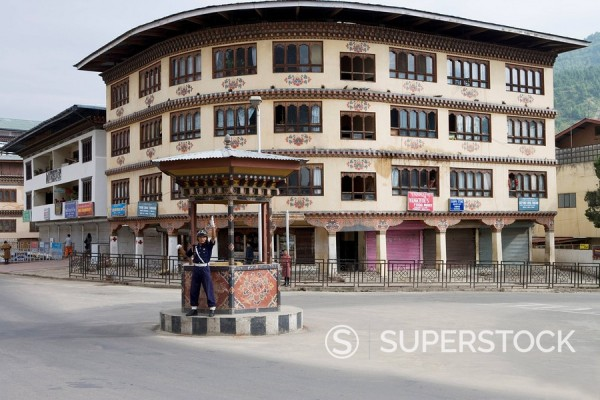 Stock Photo: 1890-56940 Thimphu, Bhutan, Asia