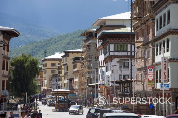 Thimphu, Bhutan, Asia : Stock Photo