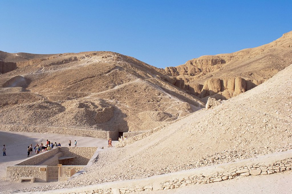 Stock Photo: 1890-5744 Tomb of Tutankhamen, Valley of the Kings, UNESCO World Heritage Site, Thebes, Egypt, North Africa, Africa