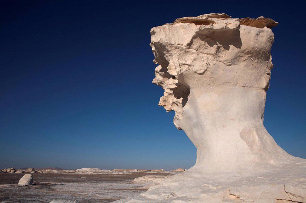 Stock Photo: 1890-57697 The White Desert, Farafra Oasis, Egypt, North Africa, Africa