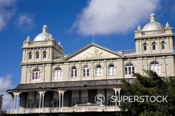 Mutual Life Assurance Building, Bridgetown, Barbados, West Indies, Caribbean, Central America : Stock Photo