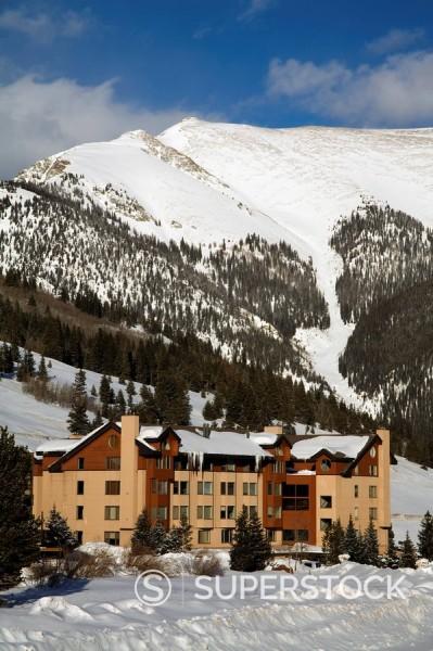 Stock Photo: 1890-58970 Copper Mountain Ski Resort, Rocky Mountains, Colorado, United States of America, North America