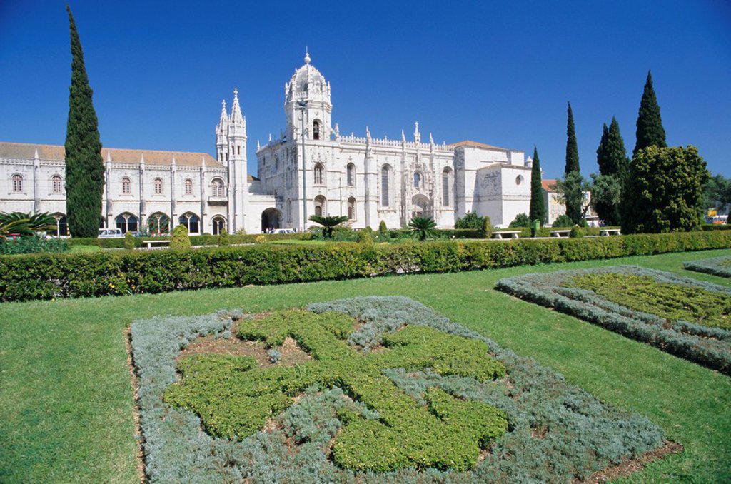 Stock Photo: 1890-62146 Jeronimos Monastery, Lisbon, Portugal, Europe