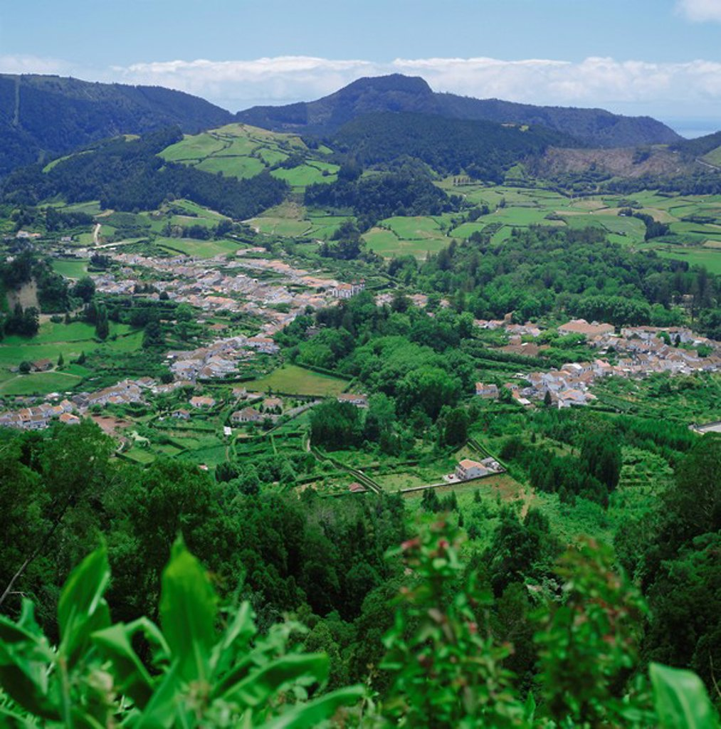 Furnas Valley, Sao Miguel, Azores, Portugal, Atlantic : Stock Photo