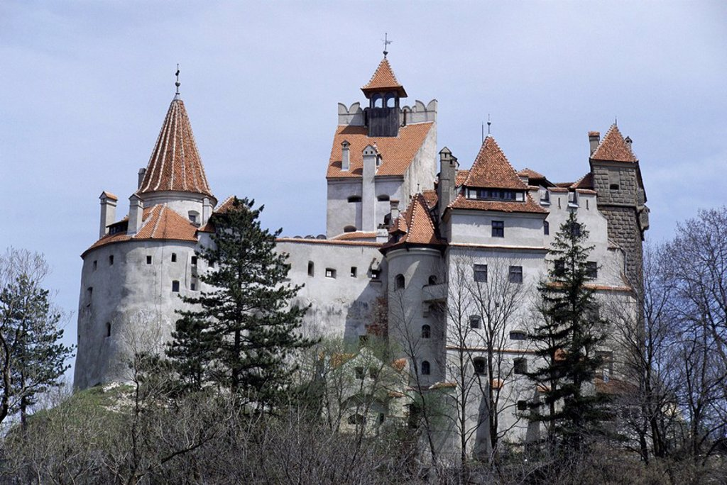 Bran Castle, Dracula´s castle, Bran, Romania, Europe : Stock Photo
