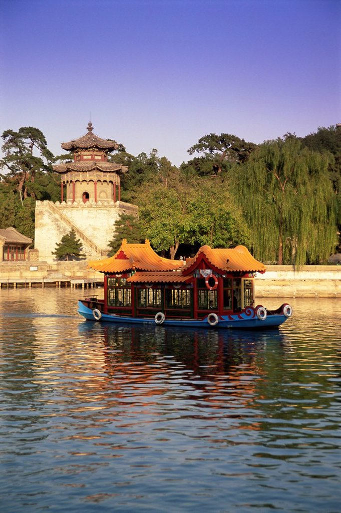 Kunming Hu lake, Summer Palace Park, Summer Palace, Beijing, China, Asia : Stock Photo