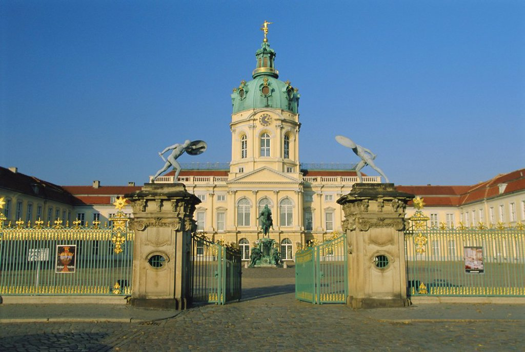 Stock Photo: 1890-65094 Schloss Charlottenburg Palace, Berlin, Germany, Europe