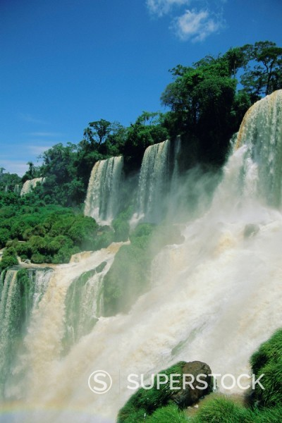 Stock Photo: 1890-66026 Iguacu Falls, Argentina, South America